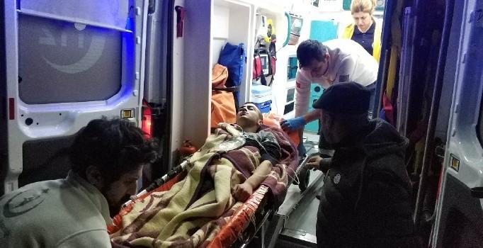 Samsun'da silahlı saldırı: 2 kişi ağır yaralı