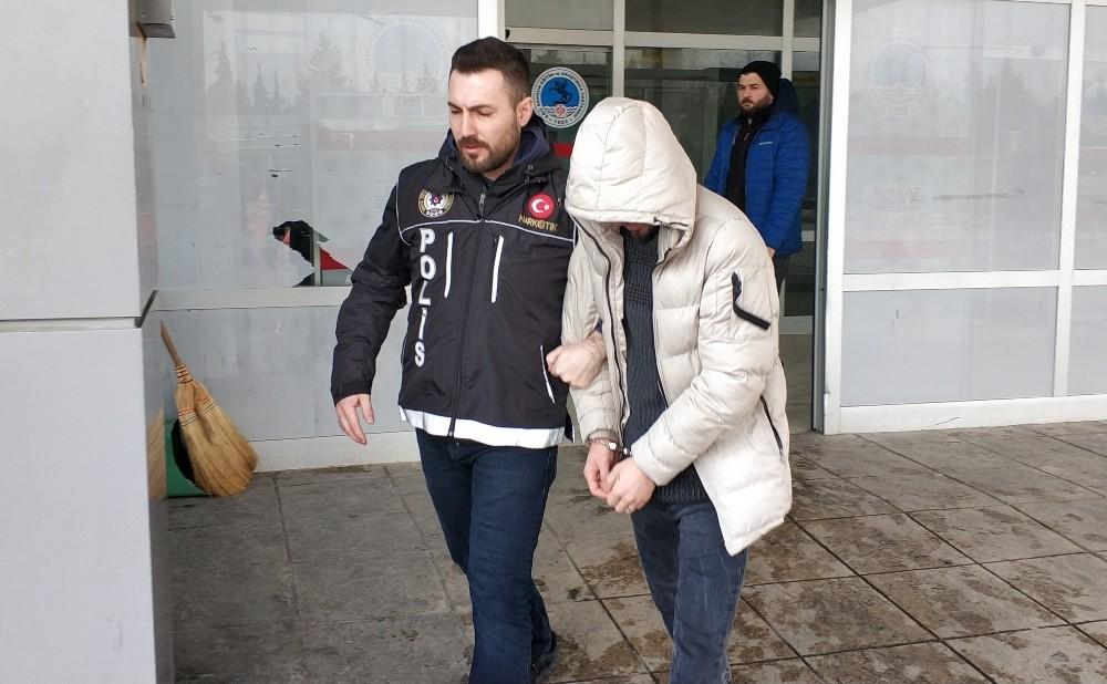Samsun'da uyuşturucu hap satan şahıs yakalandı