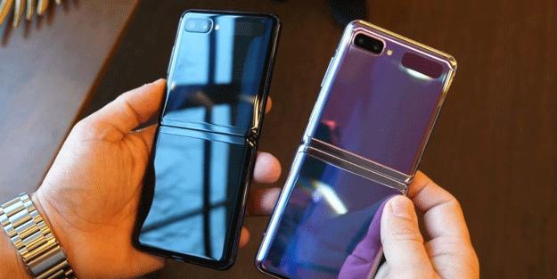 Samsung 2021'e üç katlanabilir telefonla giriyor!