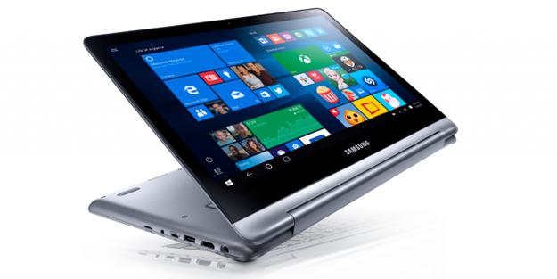 Samsung'tan ikisi bir arada dizüstü bilgisayar