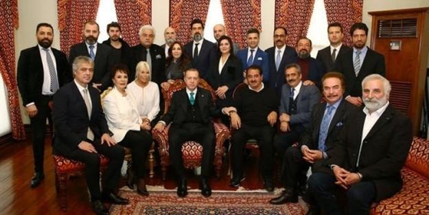 Sanatçılardan Erdoğan'a doğum günü sürprizi!