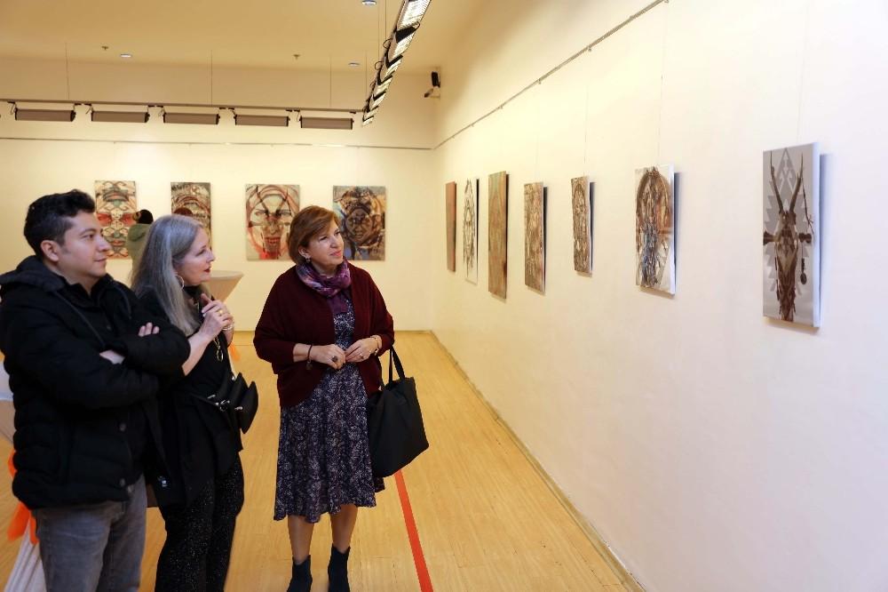 SANKO Sanat galerisi'ndeki sergi ilgi görüyor