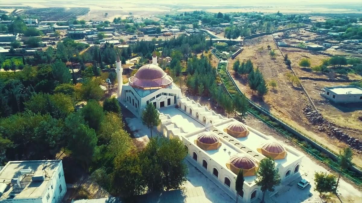 Şanlıurfa'da Eyyüp Nebi Camii ve Külliyesi ibadete hazır