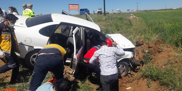 Şanlıurfa'da feci kaza: Yaralılar var