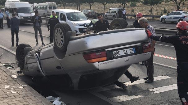 Şanlıurfa'da araç devrildi: 7 kişi yaralı