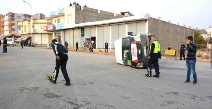 Şanlıurfa'da TIR ile öğrenci servisi çarpıştı: 13'ü öğrenci, 15 yaralı