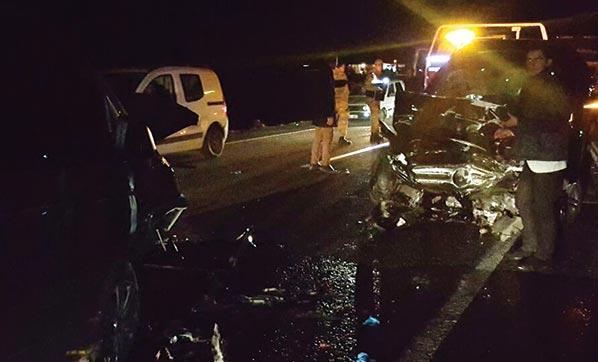 Şanlıurfa'da trafik kazası: 1 ölü 11 yaralı