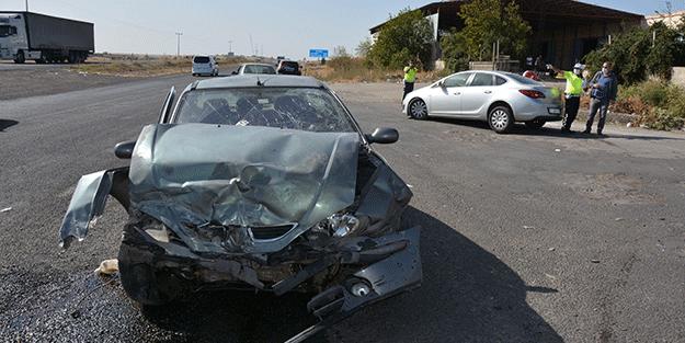 Şanlıurfa'da trafik kazası: Yaralılar var