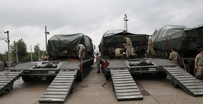 Şanlıurfa'ya 30 araçlık askeri sevkiyat