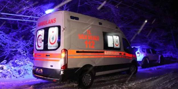 Şarampole yuvarlanan pikaptaki 6 kişi yaralandı