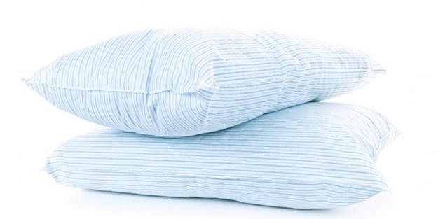 Sararan yastıklarınızı böyle temizleyin