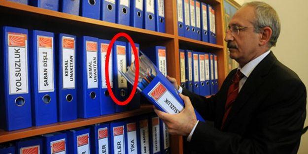 Sarıgül'ün yolsuzluk dosyası Kılıçdaroğlu'nun arşivinde!