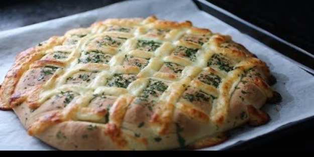 Sarımsaklı ekmek hamuru | Sarımsaklı ekmek tarifi, sarımsaklı ekmek nasıl yapılır?