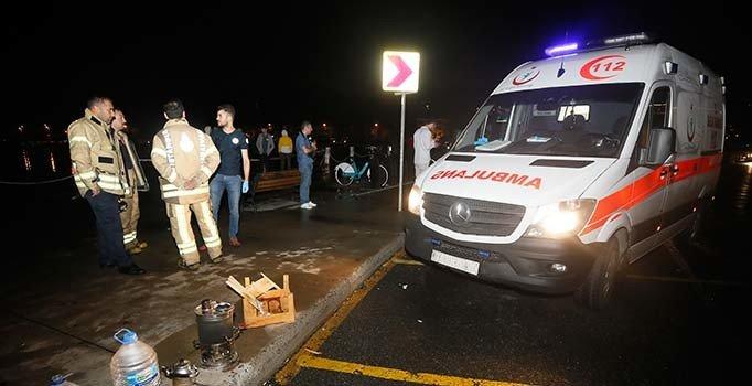 Sarıyer'de minibüs denize uçtu: 6 yaralı