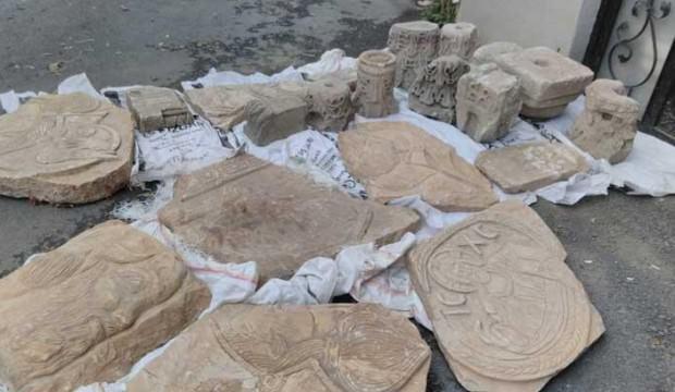 Sarıyer'de operasyon! Hepsi Arkeoloji Müzesi'ne teslim edildi