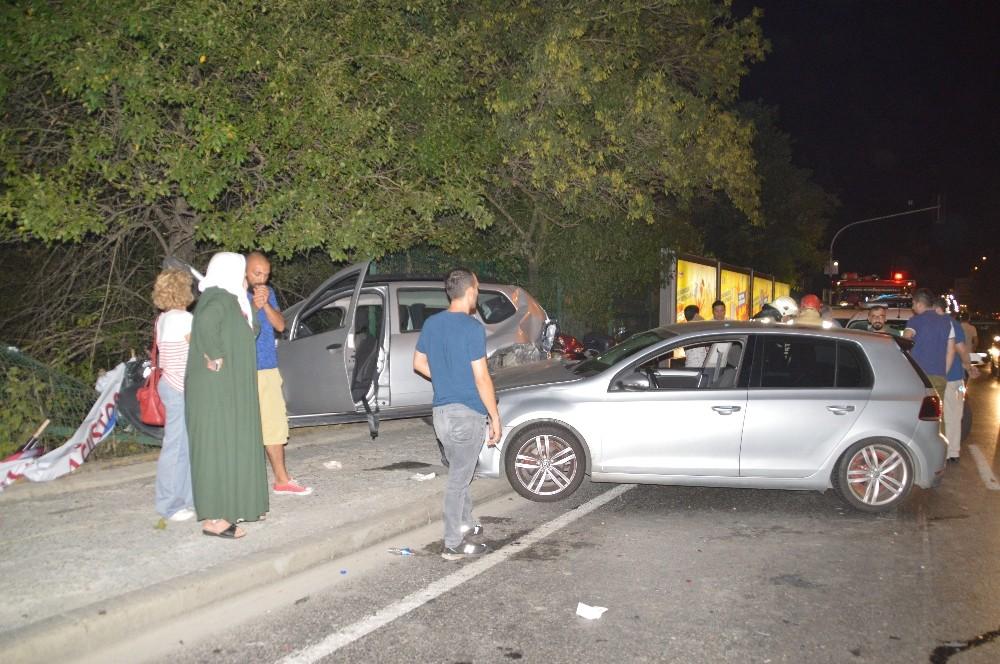 Sarıyer'de trafik kazası: 5 yaralı
