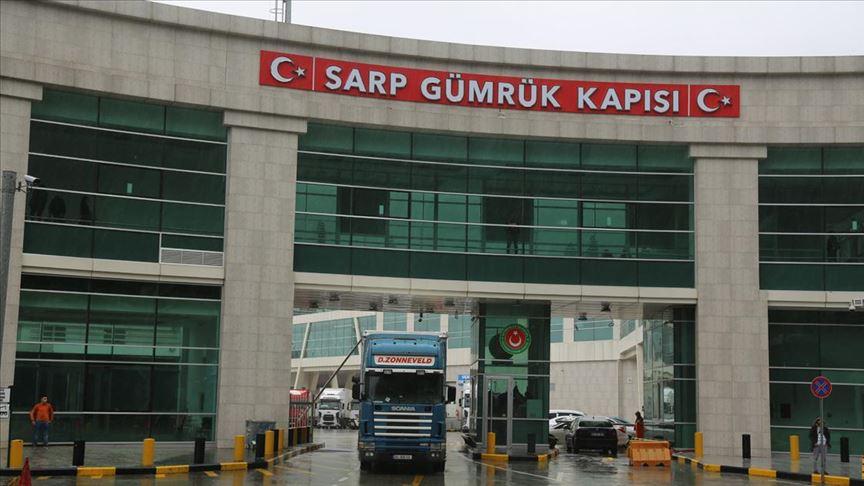 Sarp Sınır Kapısı'nı 10 ayda 5 milyon 825 bin yolcu kullandı