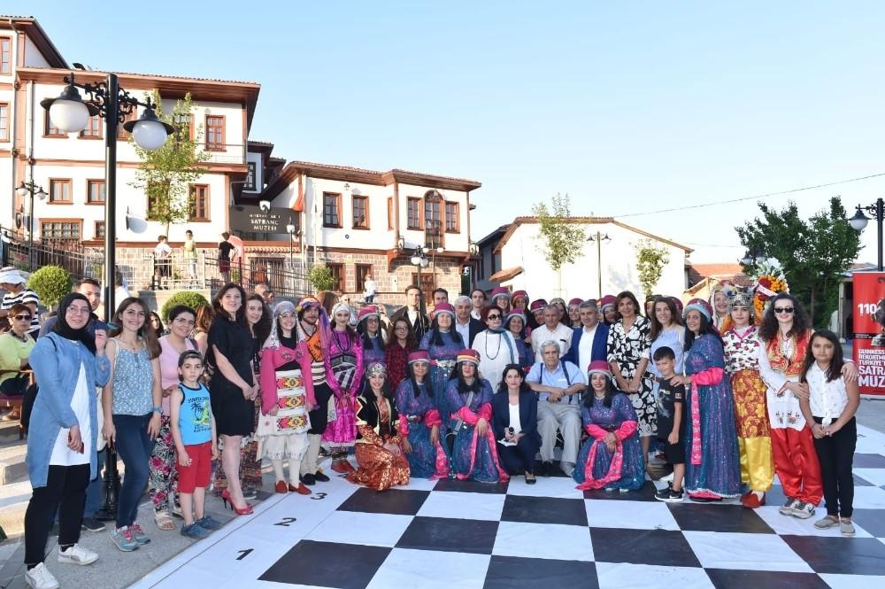 Satranç tahtasında Anadolu'nun renkleri