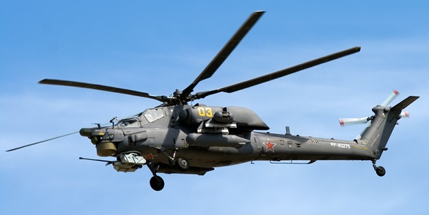 Savaş helikopteri düştü! Mürettebat hayatını kaybetti