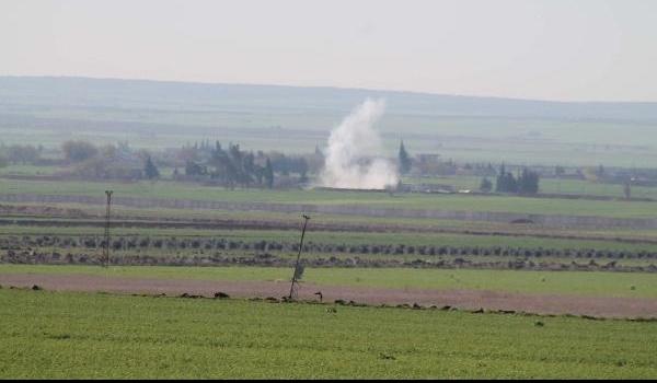 Savaş uçakları Kilis'in karşısındaki DAEŞ hedeflerini vurdu