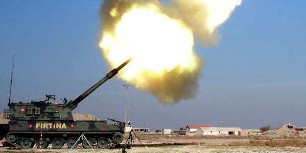 Savaş uçakları, obüs ve tanklar teröristlere bomba yağdırıyor