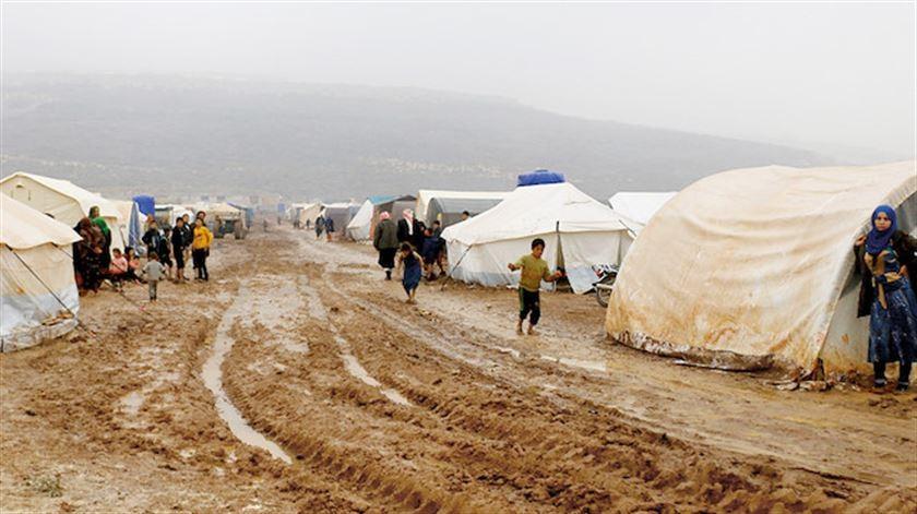 Savaştan kaçtılar, yaşam mücadelesi! 'Üşüyoruz ve açız'