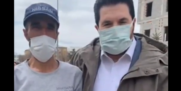 Savcı Sayan belediye işçisinin fedakarlığını anlattı...