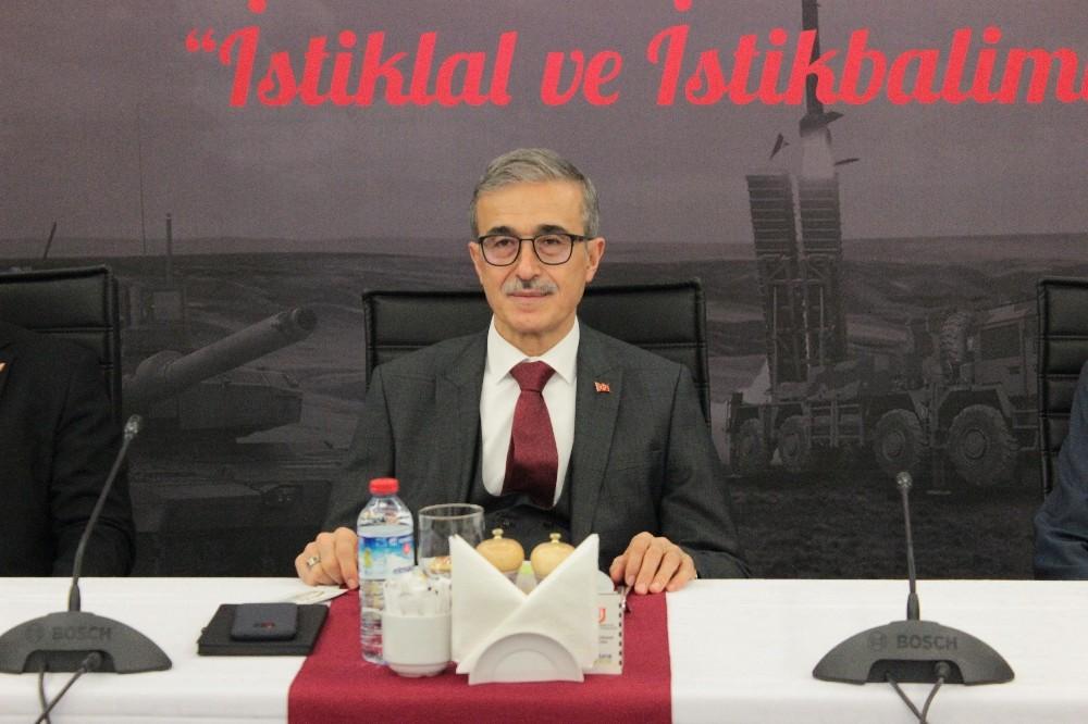 """Savunma Sanayii Başkanı Demir: """"Akıncı TİHA'yı 2020 sonunda teslim edeceğiz"""""""