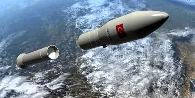 Savunma Sanayii Başkanlığı açıkladı! Milli roket geliyor
