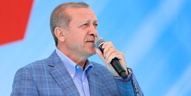 """Sayın Erdoğan'dan """"delikanlı olun"""" çağrısı!"""
