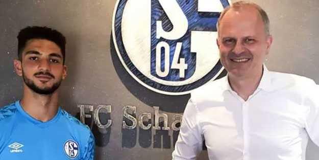 Schalke ve Kerim Çalhanoğlu sözleşme imzaladı