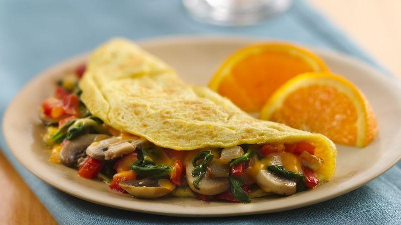 Sebzeli omlet tarifi nasıl yapılır? Sebzeli omlet tarifi