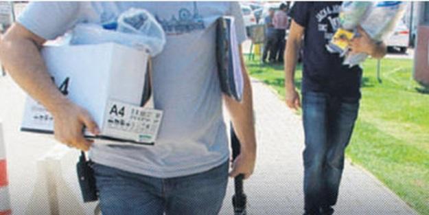 Seçmen listeleri KCK evinden çıktı