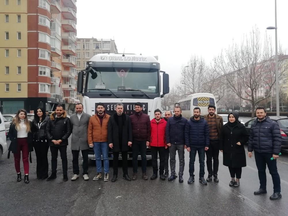 Sedat Kılınç İnşaat'tan, depremzedelere yardım eli uzandı