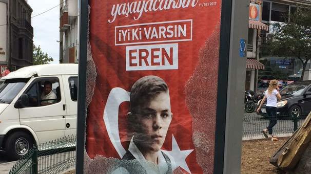 Şehit Eren Bülbül'e büyük saygısızlık!