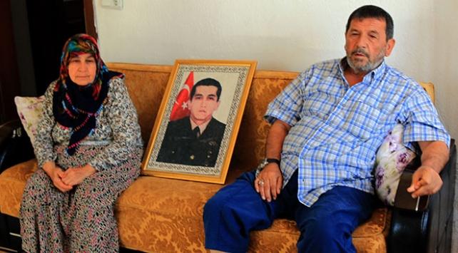 Şehit Oğuzhan Oğuzhan Çito'nun ailesinden Kandil operasyonuna destek