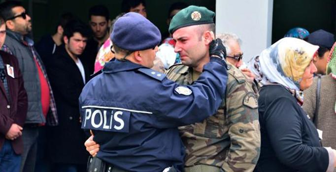 Şehit özel harekat polisi Ebubekir Durmuş uğurlandı