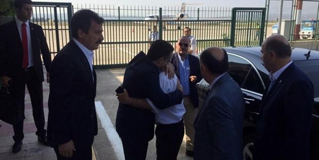 Şehit polis bakanları gözyaşlarına boğdu