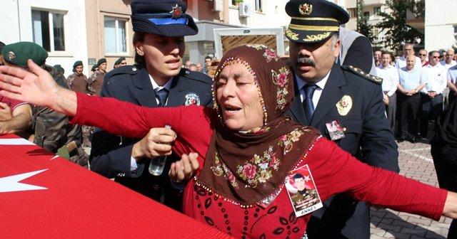 Şehit polis memuru Kılınç için tören düzenlendi