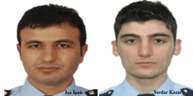 Şehit polis vücudunu el bombasına siper etmiş