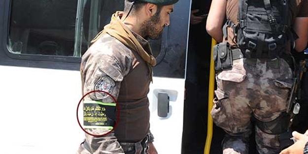 Şehit polisin silah arkadaşının kolunda dikkat çeken detay