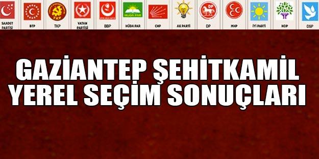 Şehitkamil seçim sonuçları 2019 | 31 Mart Gaziantep Şehitkamil yerel seçim sonuçları oy oranları