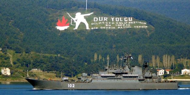 Şehitleri Anma Günü ve Çanakkale Deniz Zaferi'nin 104. yıl dönümü
