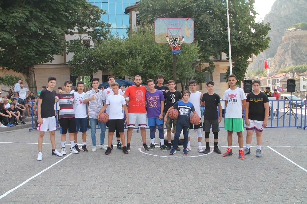Şehzadeler Sokak Basketbol Turnuvası başladı