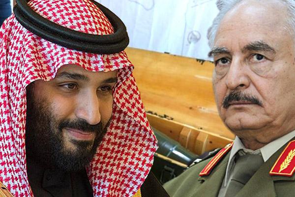 Selman'dan, Hafter'e 'acil yardım' ve 'askeri destek' sözü