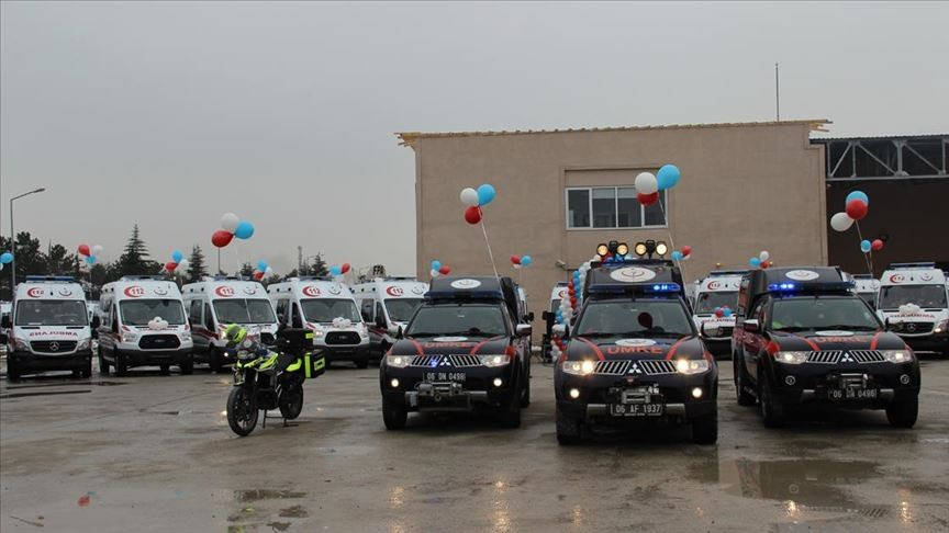 Semih Korkut: Türkiye, dünyanın en geniş ambulans filolarından birine sahip