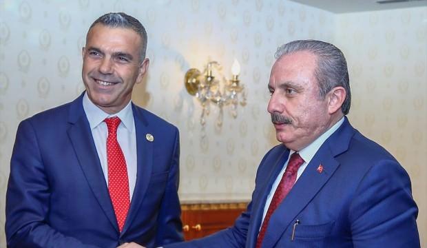 Şentop KKTC Cumhuriyet Meclisi Başkanı Uluçay ile görüştü