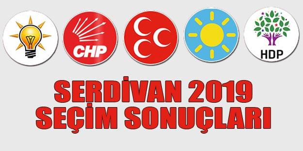 Serdivan seçim sonuçları 2019 | Sakarya Serdivan 31 Mart seçim sonuçları oy oranları