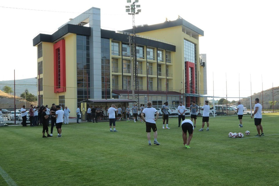 Sergen Yalçın'dan kulüp tesislerine tam not