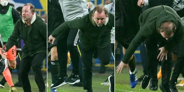 Sergen Yalçın'ın gol sevinci sosyal medyayı yıktı